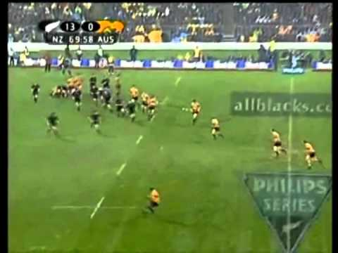 Wallabies Greatest Try's Against The All Blacks