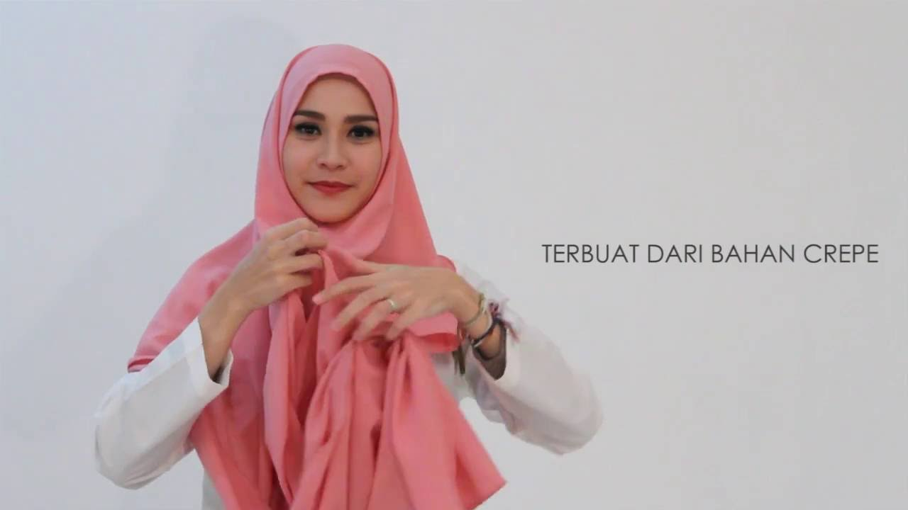 Tutorial Hijab Virgo By Zaskia Mecca YouTube