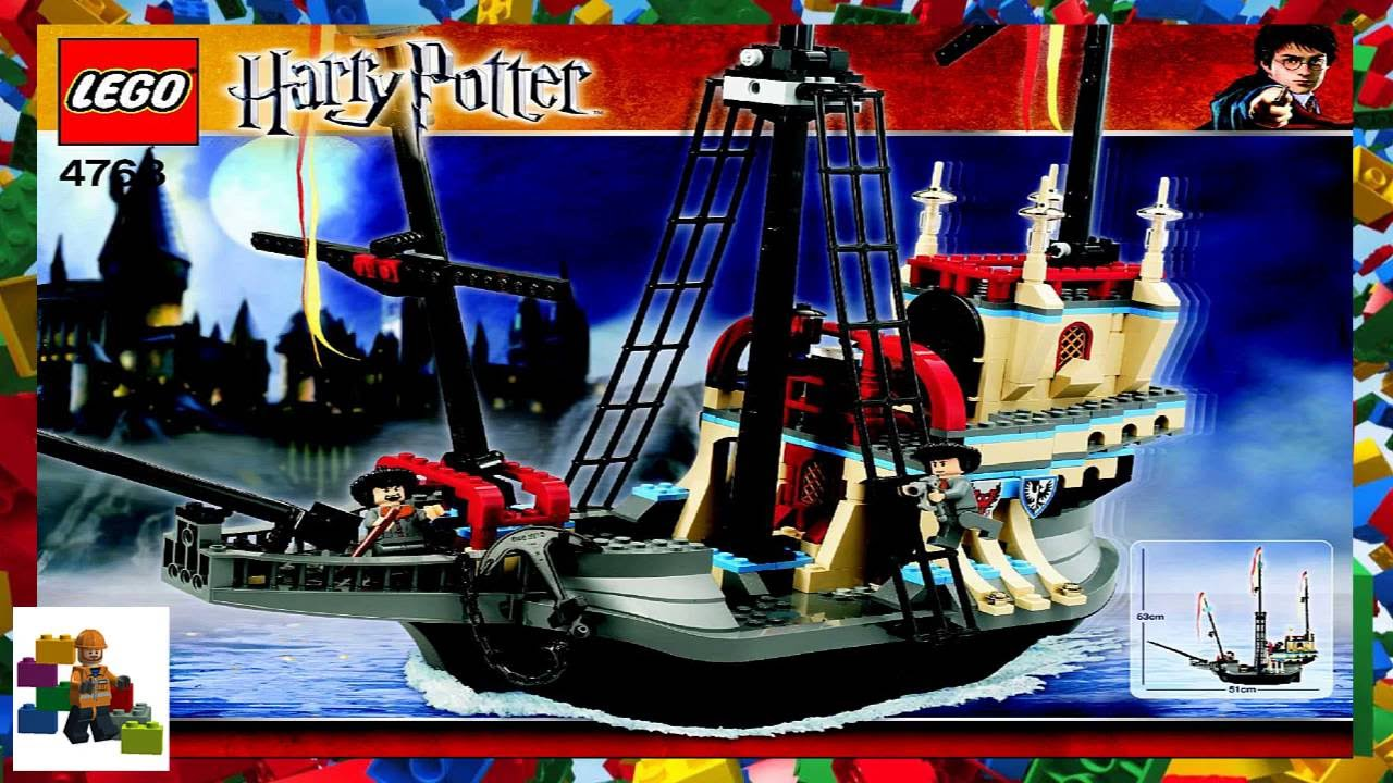 Lego Instructions Harry Potter 4768 The Durmstrang Ship Youtube 2005 lego harry potter durmstrang ship 4768 review! lego instructions harry potter 4768 the durmstrang ship