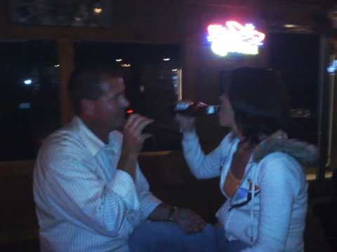 Mike and I at Horse Feathers