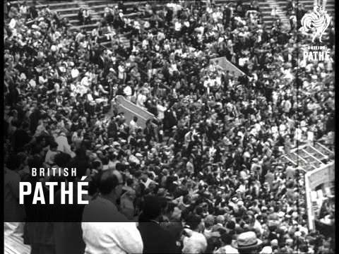Margaret Smith & Manuel Santana Take Us Tennis Titles 1965