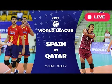 Spain v Qatar - Group 3: 2017 FIVB Volleyball World League
