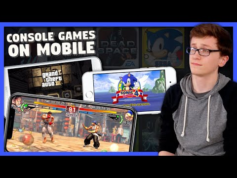 Console Games on Mobile - Scott The Woz
