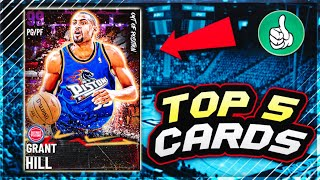 TOP 5 MOST OVERPOWERED CARDS THAT YOU CAN BUY IN NBA 2K21 MyTEAM!!