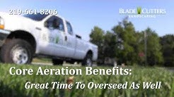 Core Aeration Services Crown Point and NW Indiana