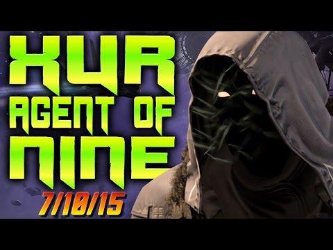 Xur Location Week 44 - Purifier Robes - Eternal Warrior - Destiny Xur Recommendations