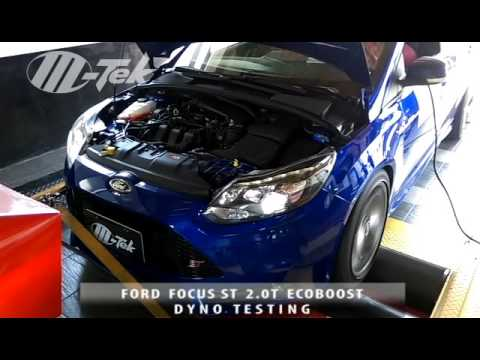 ford focus st 2 0t ecoboost installed m tek chiptuning and. Black Bedroom Furniture Sets. Home Design Ideas