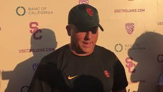 USC Football - 2018 Texas Wednesday: Clay Helton