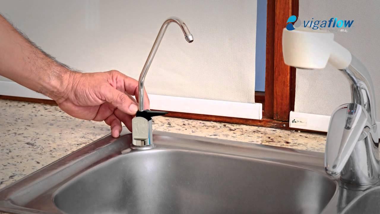 Vigaflow purificador de agua osmosis inversa youtube - Eliminar sarro en casa ...