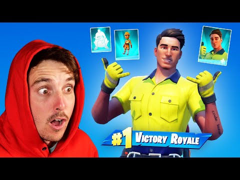 first game with MY SKIN - LazarBeam