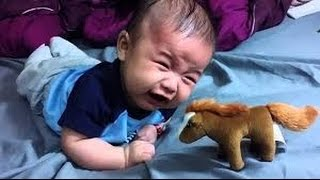 Baby scared videos compilation  2018 baby scared and cries