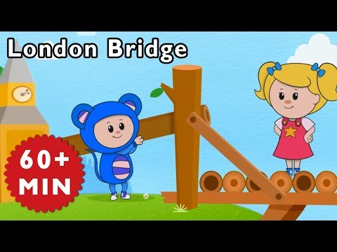 Nursery Rhymes Mother Goose Club | London Bridge is Falling Down | Kids Songs | Songs for Children