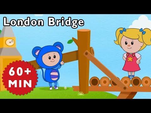 Nursery Rhymes Mother Goose Club | London Bridge is Falling Down | Kids Songs | Songs for Children
