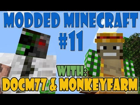 Modded Minecraft Jet Packs and Refineries!  Feed the Beast #11