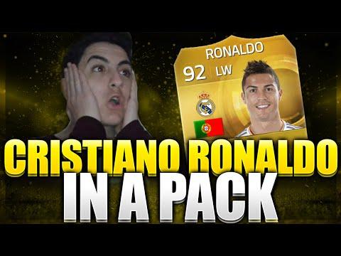 FIFA 15 | Cristiano Ronaldo  IN A PACK | Reacción 2.0