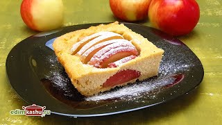 ТВОРОЖНАЯ ЗАПЕКАНКА С Яблоками в духовке Очень простой РЕЦЕПТ ЗАПЕКАНКА с творогом и манкой