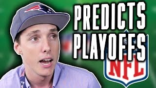 PLAYOFF TIME! LazarBeam Predicts WILDCARD ROUND! ( NFL News and Predictions)