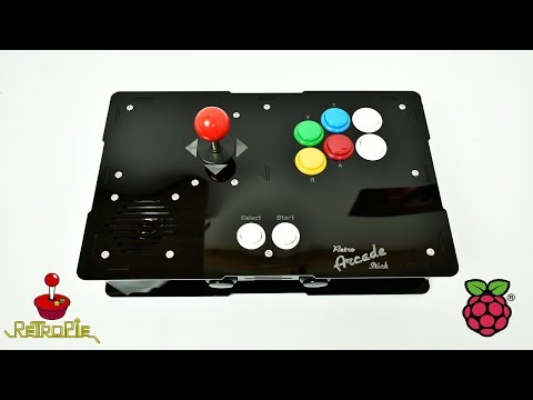 Retro Stick Arcade By Dan Michel Raspberry Pi 3 RetroPie Powered Arcade Stick