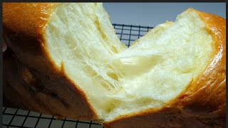 탕종우유식빵 : 쫄깃한 식빵을 만들고싶다면 탕종을 넣자…