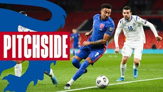 Get Up Close To The Action As The Three Lions Ease To Victory | England 5-0 San Marino | Pitchside