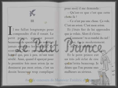 Le Petit Prince Youscribe Le Petit Prince   ch       et    R  sum    Chapitres