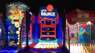 Let's Play RINGTOSS at Dave & Busters!!