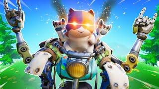 MOST HARDCORE KITTY IN FORTNITE