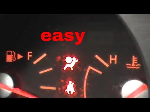how to kill airbag light
