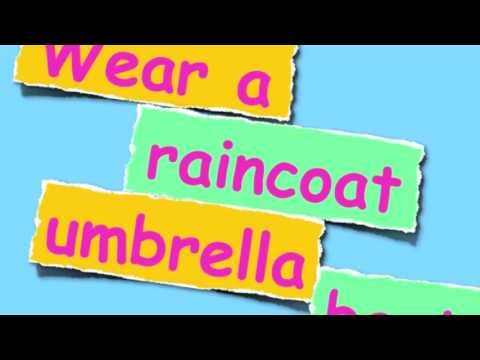 The Weather and Clothing Song! For ESL/EFL students!
