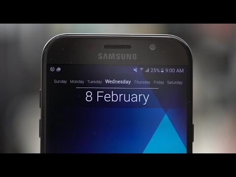 Samsung Galaxy A7 2017 مراجعة جهاز
