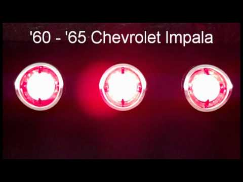 1960  1965 Impala LED Sequential Tail Lights by Easy
