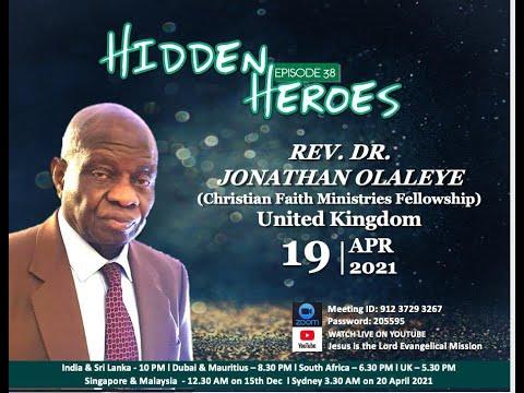 HIDDEN HEROES EDITION 38   Rev Dr Jonathan Olaleye   United Kingdom