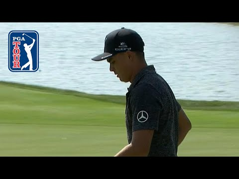Rickie Fowler drives No. 15 green and makes eagle at BMW