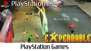 Expendable aka Millennium Soldier: Expendable (Quick Gameplay) Playstation