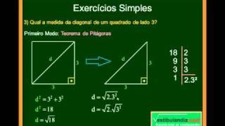 Matemática - Aula 32 - Noções de Geometria e Trigonometria - Parte 8