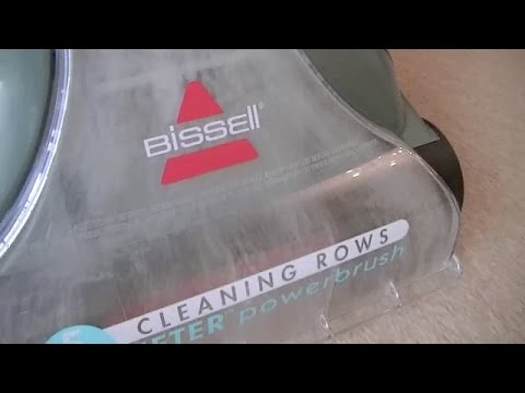 Bissell Pet Clean Healthy Home Deep Cleaner demonstration