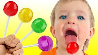 Песня про цвета и другие детские песни | Песни для детей от Кати и Димы