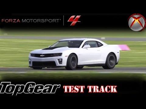 Forza 4 Camaro Zl1 V S Camaro Ss Top Gear Test Track Lap