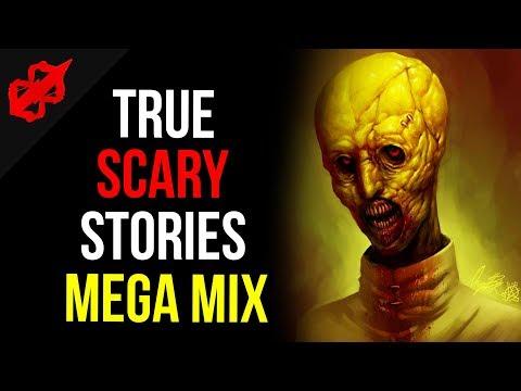 """True Scary Horror Stories"" Mega Mix #4 | Reddit Disturbing Horror Stories"