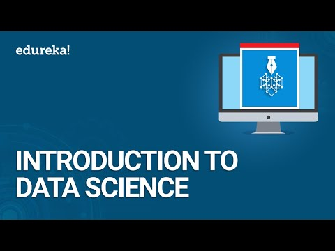 Data Science Training | Introduction to Data Science | Data Science Certification | Edureka