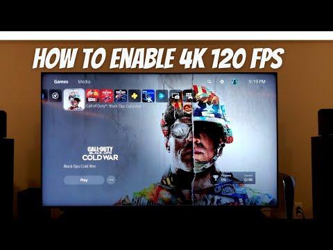 How to get 4K 120fps 120hz on PS5 Cold War using Samsung QLED TV 8K