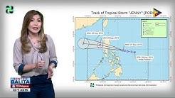 Bagyong #JennyPH, mas lumakas pa habang papalapit sa Central Luzon