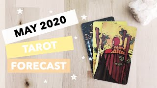 May 2020 Tarot Forecast - A challenge, power boost & new exciting opportunities 🚀