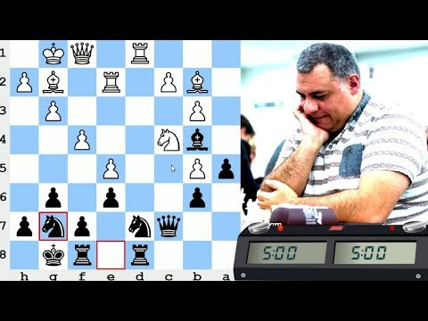 LIVE Blitz (Speed) Chess Game: vs International Master M Carlo D'Amore from Italy (aka Kirlian)