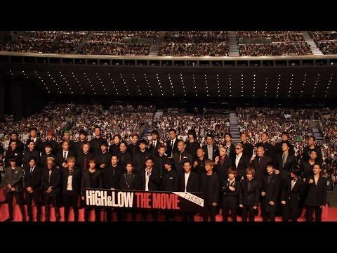 EXILE AKIRA TAKAHIROらが『HiGH&LOW THE MOVIE』イベントに登壇!