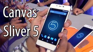 Micromax Canvas Sliver 5 Q450 Hands On Review