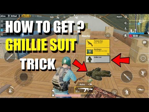 NEW SECRETS PUBG MOBILE HOW TO GET GHILLIE SUIT ? (HINDI)