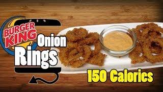 Bk Burger King Onion Rings & Zesty Sauce Recipe - Hellthyjunkfood
