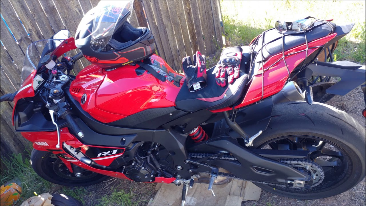 2019 Yamaha Yzf R1 Rapid Red Putting The Miles On