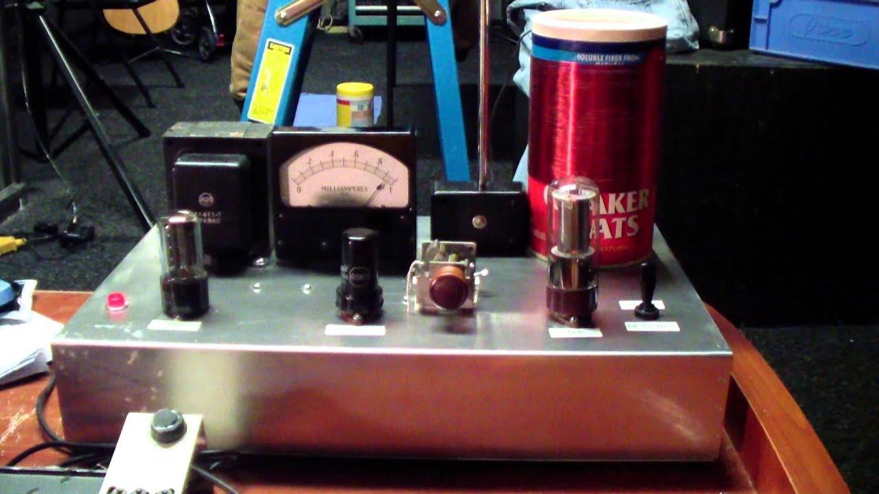 My New Tube Type Am Radio Transmitter